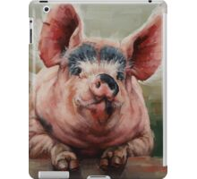 Friendly Pig iPad Case/Skin