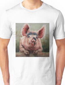Friendly Pig Unisex T-Shirt