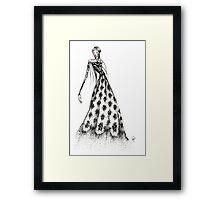 Dress for Oscar Framed Print