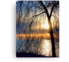 Good Morning Sun Canvas Print