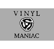 Vinyl Maniac Photographic Print