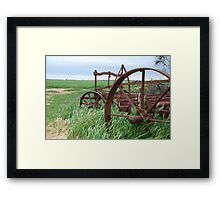 wheel 2 Framed Print