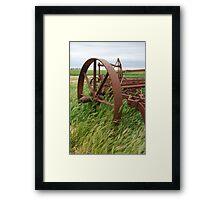 wheel 3 Framed Print