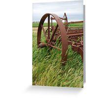 wheel 3 Greeting Card