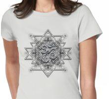 Tribal Trip OM Geometry Womens Fitted T-Shirt
