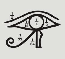 Eye of Horus, Heqat, Fractional Numbers, Egypt by nitty-gritty
