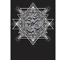 Tribal Trip OM Geometry Photographic Print