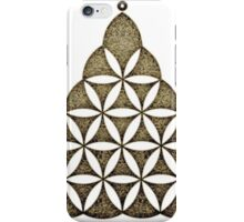 Flower Of Llife, Sacred Geometry, Crop Circle, Triangle iPhone Case/Skin
