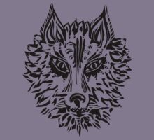 Wolf, Symbol Of Loyalty And Strength Kids Clothes