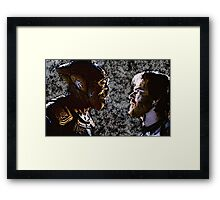 enemy mine (1985) Framed Print
