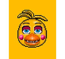 Five Nights at Freddy's 2 - Pixel art - Toy Chica Photographic Print