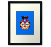Five Nights at Freddy's 2 - Pixel art - Balloon Boy Framed Print