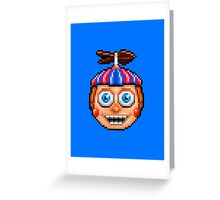 Five Nights at Freddy's 2 - Pixel art - Balloon Boy Greeting Card
