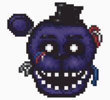 Five Nights at Freddy's 2 - Pixel art - Shadow Freddy Kids Clothes