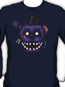 Five Nights at Freddy's 2 - Pixel art - Shadow Freddy T-Shirt