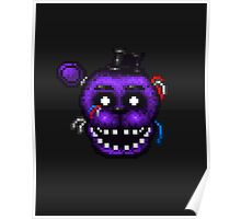 Five Nights at Freddy's 2 - Pixel art - Shadow Freddy Poster