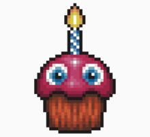 Five Nights at Freddy's 2 - Pixel art - Cupcake (no plate) Kids Clothes