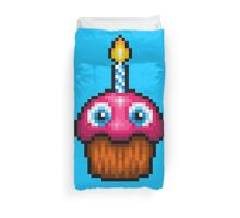 Five Nights at Freddy's 2 - Pixel art - Cupcake (no plate) Duvet Cover