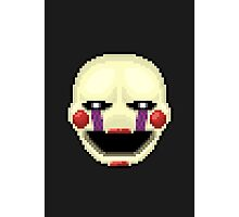 Five Nights at Freddy's 2 - Pixel art - Marionette Photographic Print