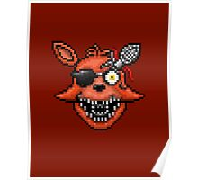 Five Nights at Freddy's 2 - Pixel art - Foxy Poster