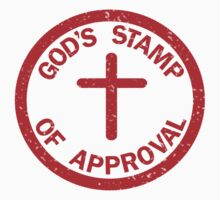 God's Stamp of Approval by Vestqueplus