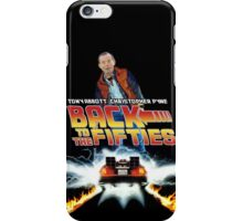 Back To The Fifties iPhone Case/Skin