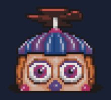 Five Nights at Freddy's 2 - Pixel art - JJ / Balloon Girl One Piece - Long Sleeve