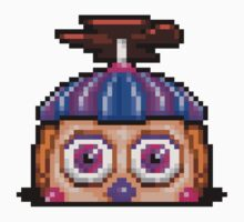 Five Nights at Freddy's 2 - Pixel art - Balloon Girl Kids Clothes