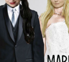 Swan Queen Married at First Sight Sticker
