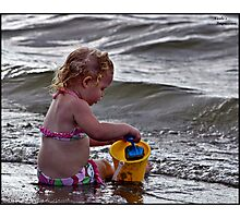 Beach Play Time Photographic Print