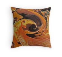 Seashells On Adrenalin Throw Pillow
