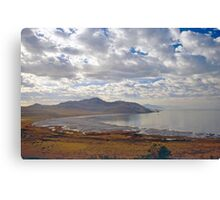 Antelope Island (2) - Buffalo Bay Canvas Print