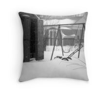 Hillbilly Winter Throw Pillow