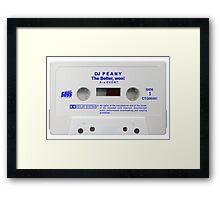 py cassette tape Framed Print