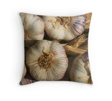 www.lizgarnett.com - Dinan Garlic Throw Pillow