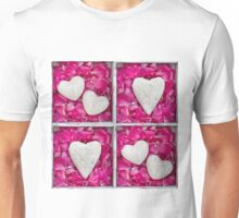 Hearts and Petal Unisex T-Shirt