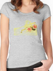 Origanum Flower Women's Fitted Scoop T-Shirt