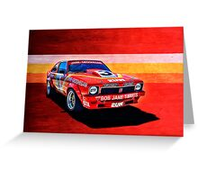 Bob Jane Torana A9X Greeting Card