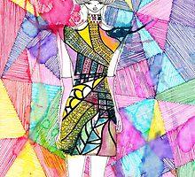 Jeweled Maharani Dress 02 by D.U.R.A .