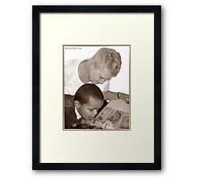 Sweet Precious Moments... Framed Print