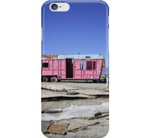 Where are the plastic flamingoes?  iPhone Case/Skin