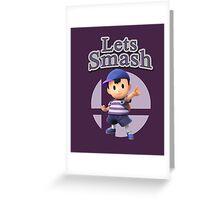Ness - Super Smash Bros Greeting Card