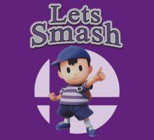 Ness - Super Smash Bros by Lfcjdp