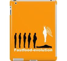 Fastfood evolution iPad Case/Skin