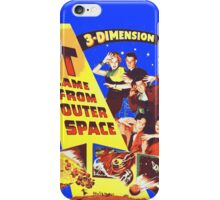 IT came from OUTER SPACE iPhone Case/Skin