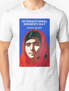 MALALA INTERNATIONAL WOMEN'S DAY T-Shirt