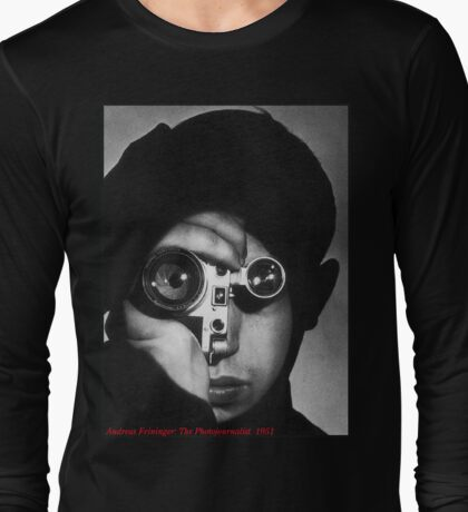 Homage: Andreas Feininger: The Photojournalist:1951 Long Sleeve T-Shirt