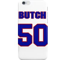 National baseball player Butch Henry jersey 50 iPhone Case/Skin