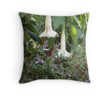 Two Bells Throw Pillow