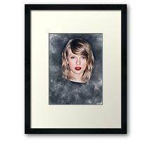 Taylor Swift Dark Framed Print
